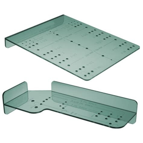 cabinet pull template door drawer jigs templates