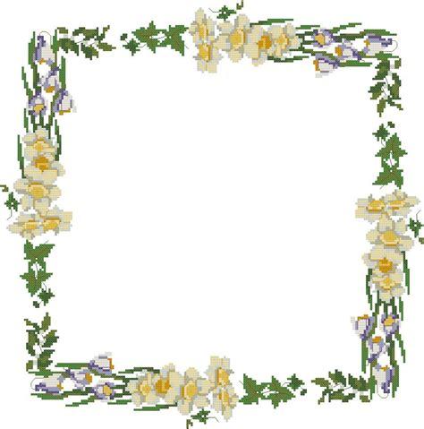 Cornice Gratis - cornici 016 schema punto croce gratuito da stare
