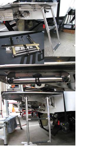 Malibu Boat Swim Platform Ladder by Swim Ladder Modifications Accessories Themalibucrew