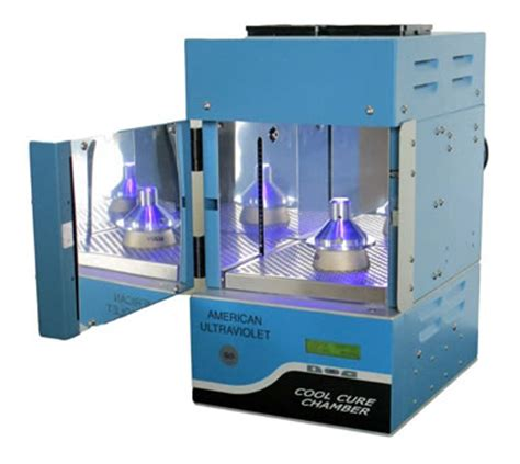 led curing cool cure chamber american ultraviolet