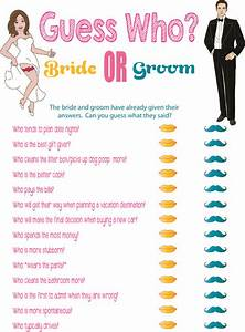 printable bridal shower game quotguess whoquot printable With shower games wedding