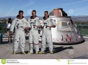 Apollo 13 Model At Universal Studios Hollywood Editorial ...