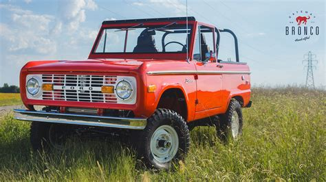 ford bronco licensed reproductions