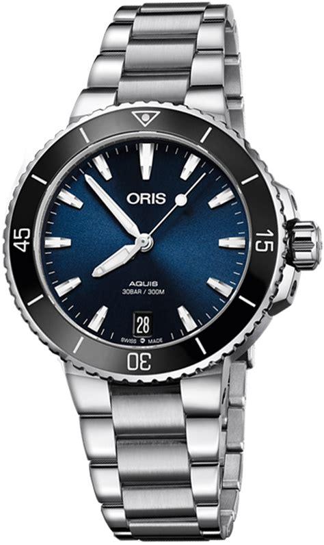 Oris Aquis Date Blue Dial 73377314135MB