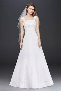 a line chiffon split front overlay wedding dress style v9010 With split front wedding dress