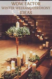 winter wedding ceremony ideas the wedding of my dreamsthe wedding of my dreams