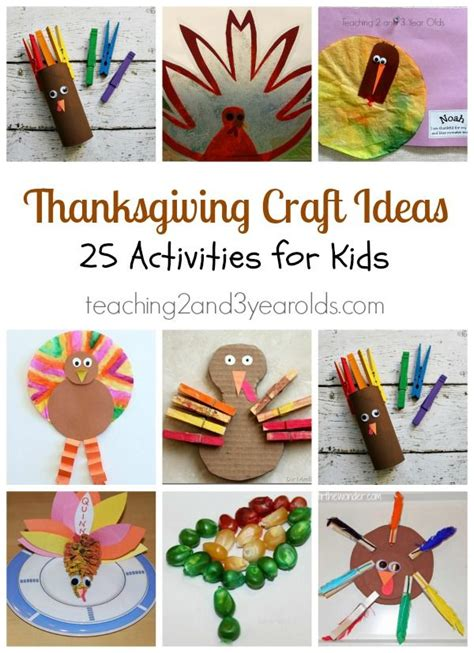 thanksgiving craft ideas  preschoolers