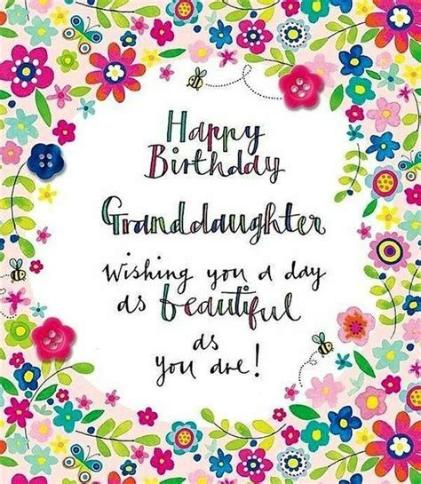 That's why we've put together this list of birthday wishes for granddaughters. Happy Birthday Wishes for Granddaughter