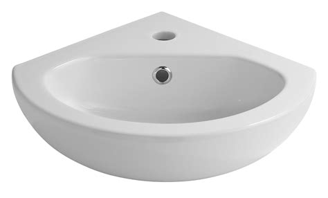 cooke lewis perdita wall mounted corner cloakroom basin