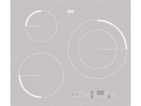 conforama plaques de cuisson table de cuisson induction 3 foyers faure f6533ios faure vente de plaque de cuisson conforama