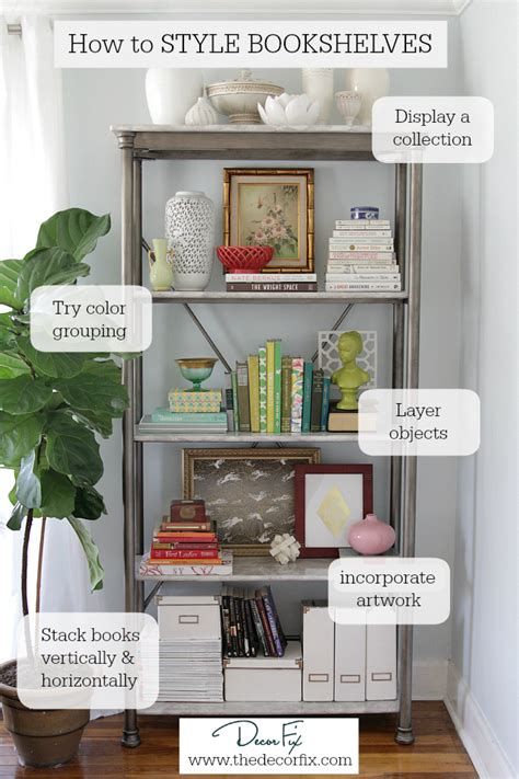 Decorating Ideas Bookshelves by How To Style A Bookshelf Diy Ideas Bookshelf Styling