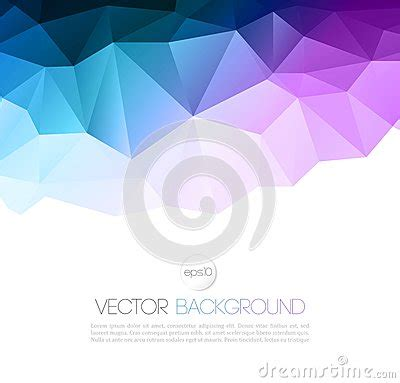 vector abstract geometric background  triangle stock