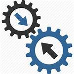 Integration Business Icon System Process Automatic Gears