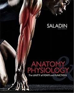Anatomy  U0026 Physiology The Unity Of Form And Function 6th