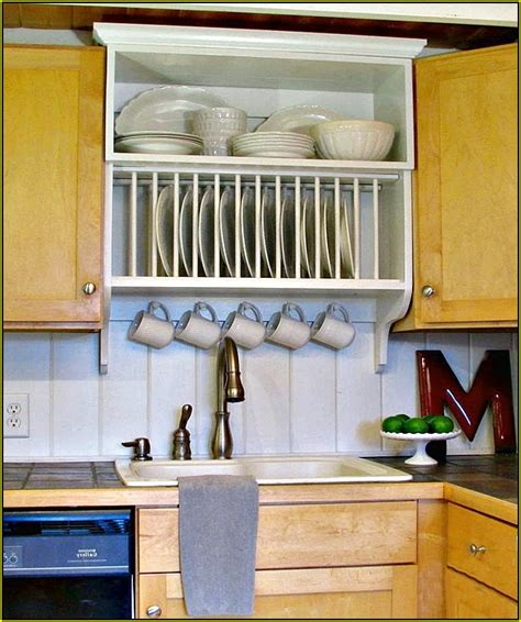 kitchen cabinet with plate rack wall mounted plate racks for kitchens home design ideas 7981