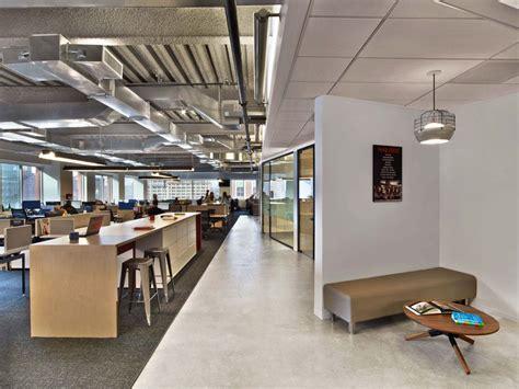 modern industrial office interior design modern office with open space interior with industrial touches 지구당 사무실 pinterest office