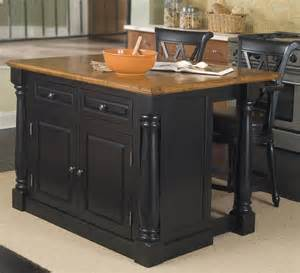 kitchen island set buy pennfield kitchen island counter stool in black finish set of 2