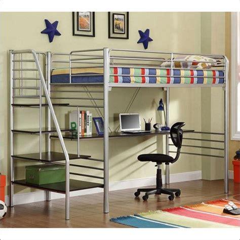 desk under bed ikea metal loft beds with desk underneath