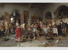 Arturo Ricci Italian, 18541919 The Wedding Party
