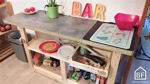 Plan De Travail En Palette : les palettes bricolage facile ~ Melissatoandfro.com Idées de Décoration