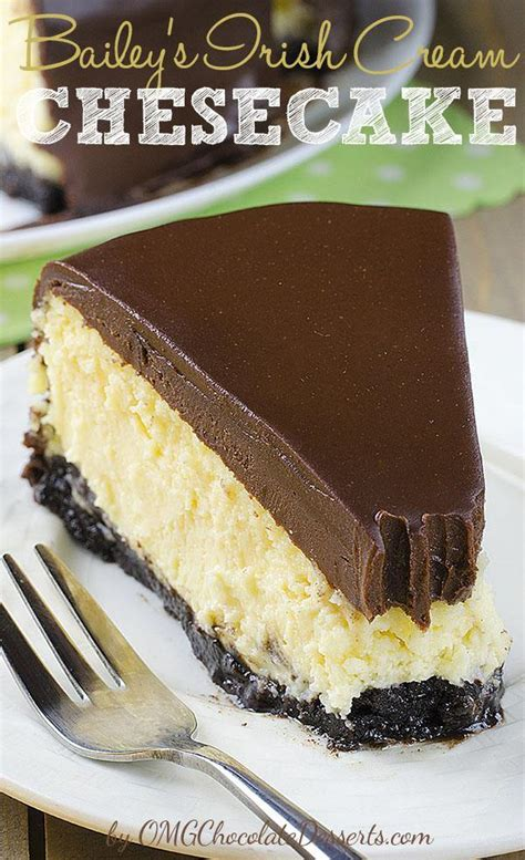 baileys dessert recipes bailey s cheesecake omg chocolate desserts