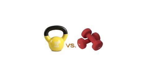 vs better which kettlebells dumbbells popsugar