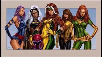 Marvel Characters Female Dc Storm Rogue Xmen