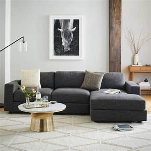 Meuble Salon Moderne : d co moderne pour le salon 85 id es avec canap gris ~ Premium-room.com Idées de Décoration