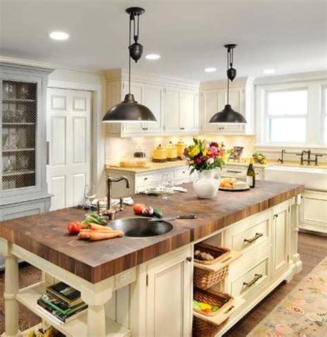 antique kitchen island farm house lighting interior design and ideas theydesign