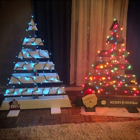 diy pallet christmas tree ideas    involvery