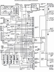 V Manual  1993 Pontiac Bonneville Schematic Wiring Diagrams