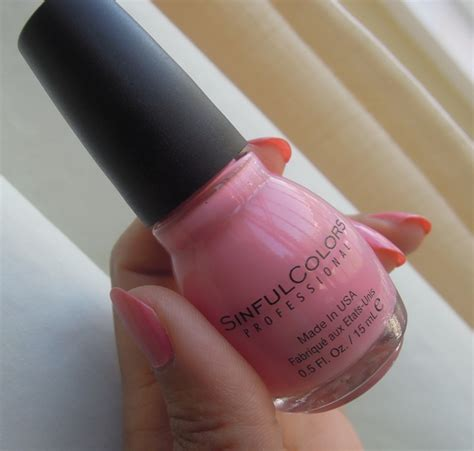 professional nail colors sinful colors professional nail soul mate review