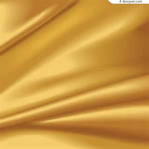 silk flowers 4 designer golden satin background vector material