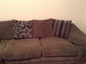 large dfs pillow back corner sofa and swivel chair for With big sofa pillows for sale