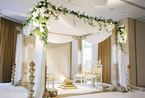 Wedding Decoration Design by Wedding Decor Is Incomplete Without An Imposing Mandap