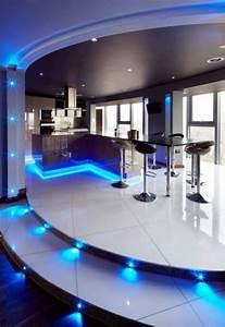 Futuristic House Interior