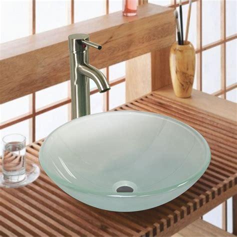 Lighting Fixtures Bathroom Vanity by 20 Glass Sink Design Ideas For Bathroom Inspirationseek Com