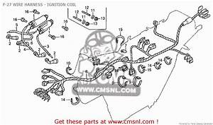 Honda Cb650 1979  Z  F-27 Wire Harness - Ignition Coil - Buy F-27 Wire Harness