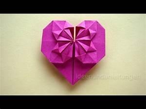 Herz Falten Origami : origami anleitung herz falten geschenk selber falten mit papier z b f r freundin diy youtube ~ Eleganceandgraceweddings.com Haus und Dekorationen