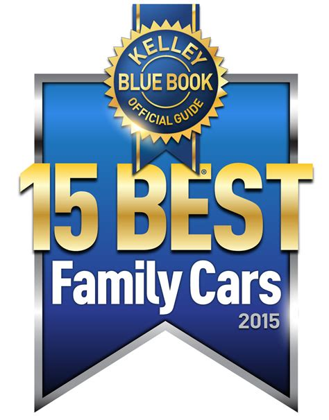 Kelley Blue Book Names 15 Best Family Cars Of 2015