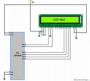 Interfacing Lcd 16x2 In 4-bit Mode With Pic18f4550