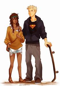 viria fan art Piper McLean and Jason Grace | Percy Jackson ...