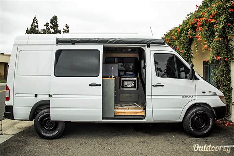 dodge sprinter motor home camper van rental