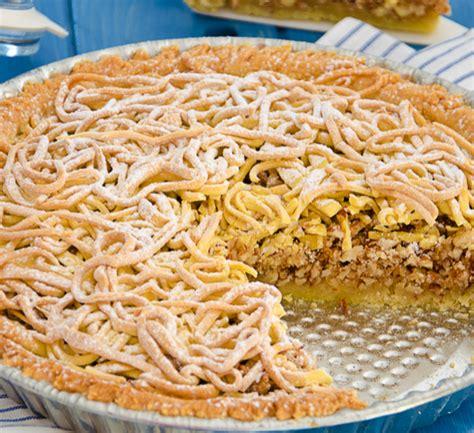 Torta Tagliatelle Mantovana by Torta Di Tagliatelle La Ricetta Originale Lombarda