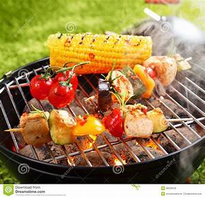 Vegetarian bbq stock photo. Image of background, meal - 30033576