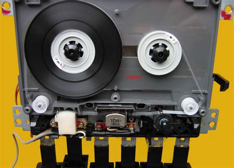 Diagram Of Audio Cassette by Motor Does Cassette Change Its Velocity While