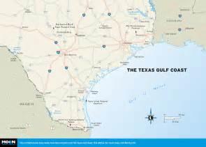 Texas Gulf Coast Map