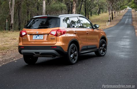suzuki vitara  turbo review video performancedrive