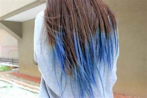 Blaue Haare Ombre : haare ombre blau moderne m nnliche und weibliche haarschnitte und haarf rbungen ~ Frokenaadalensverden.com Haus und Dekorationen