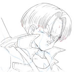 Draw Dragon Ball Z Trunks